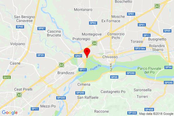 Mappa Chivasso